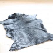 Huid geit zwart 70 x 115cm.