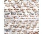 Vloerkleed leer met jute beige 200cm. x 300cm.