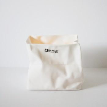 Waxinelicht Paper bag Serax 10cm. hoog
