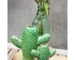 Serax Fish & Fish karaf/ vaas groen 29cm. hoog