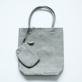 Zebra Kartel Bag vintage grey 37cm.