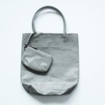Zebra Kartel Bag grey 37cm.