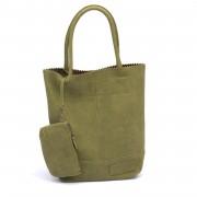 Zebra Kartel Bag green 37cm.