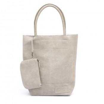 Zebra Kartel Bag light-grey 37cm.