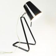 Tafellamp Z metaal zwart Leitmotiv 33cm. hoog